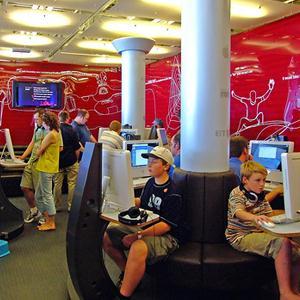 Интернет-кафе Красного